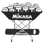 Mikasa collapsible hammock ball cart, black