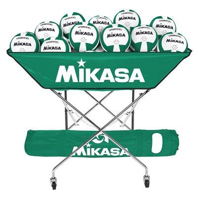 Chariot pliable Mikasa style hamac, vert