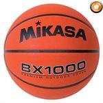 Ballon de basketball Mikasa en caoutchouc