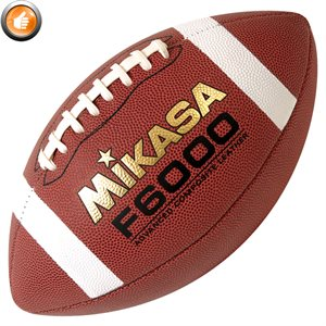 Ballon de football Mikasa en cuir composite