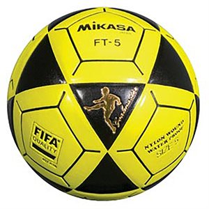 Official footvolley ball, #5, black / yellow