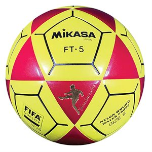 Official footvolley ball, #5, red / yellow