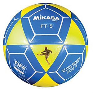 Official footvolley ball, #5, yellow / blue