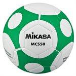 Ballon de soccer design MCS Orbite, #5, vert / blanc