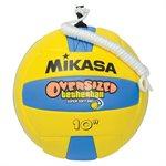 Ballon de tetherball surdimensionné avec corde