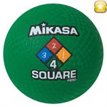Ballon de jeu Four Square, vert