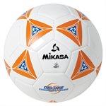 Ballon de soccer matelassé orange