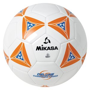 Cushioned cover soccer ball, orange