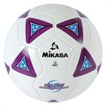 Cushioned cover soccer ball, purple