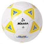 Ballon de soccer matelassé jaune
