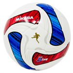 Deluxe cushioned cover soccer ball