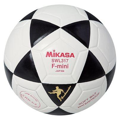 Ballon de soccer rev. MikasaHyde, #2, noir / blanc
