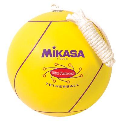 Ballon de tetherball, revêtement en caoutchouc
