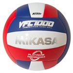 Volleyball with Japanese leather cover