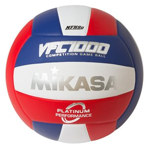 Ballon de volleyball rev. cuir japonais, USA