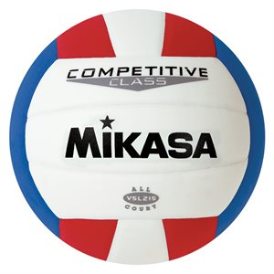 Mikasa indoor / outdoor ball, red / white / blue