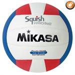 Ballon de volleyball de plage Squish®, tricolore