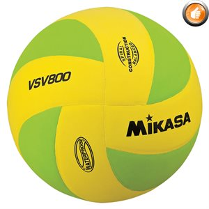 Squish® beach volleyball, yellow / green