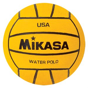 Water polo training ball, yellow